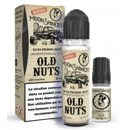 Moon Shiners Old Nuts 60ml - Le French Liquide